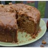 Some Fall clicks and an 'Apple Walnut Cake with a caramel drizzle'