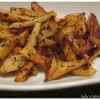 Baked Spicy Potato Fries 3 ways! : Spicy Masala, Chipotle Chili and Harissa Fries