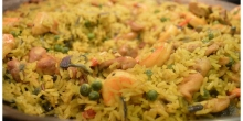 Around the World #1:  Discovering Spain with an authentic Paella recipe