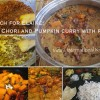 Adzuki Beans and Pumpkin coconut curry (Matanga Erisheri)