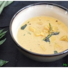 Yam and Coconut Soup (Elephant foot yam curry)
