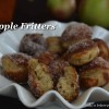 Welcoming Fall with Warm Apple Fritters