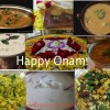Tangy Bitter gourd curry (Paavakka Varutharachathu) and a round up of Onam Sadya recipes