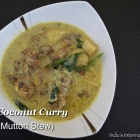 Lamb Coconut Curry (Kerala Mutton Stew)
