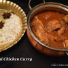 Malvani Chicken Curry(Chicken curry with roasted coconut masala)