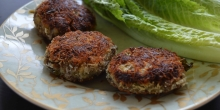 Beef Cutlets with a crispy coconut crust (Paleo)