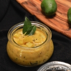 Happy Onam: Green Mango Relish (Manga Curry)