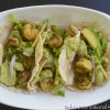 Shrimp Tacos with Avocado Cilantro Lime Mayo (Paleo, Gluten Free)