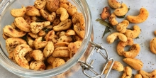 Spiced Cashew Nuts || Masala Cashew Nuts || Homemade Holiday Gifts (Paleo, Whole30, Vegan)
