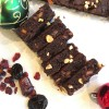 Chocolate Christmas Cake || Chocolate and Dried Fruit Cake (Paleo, Vegan, AIP)