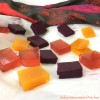 Healthy Fruit Gummies - Blueberry, Cranberry Coconut and Turmeric Ginger (Refined Sugar free, Paleo , AIP)