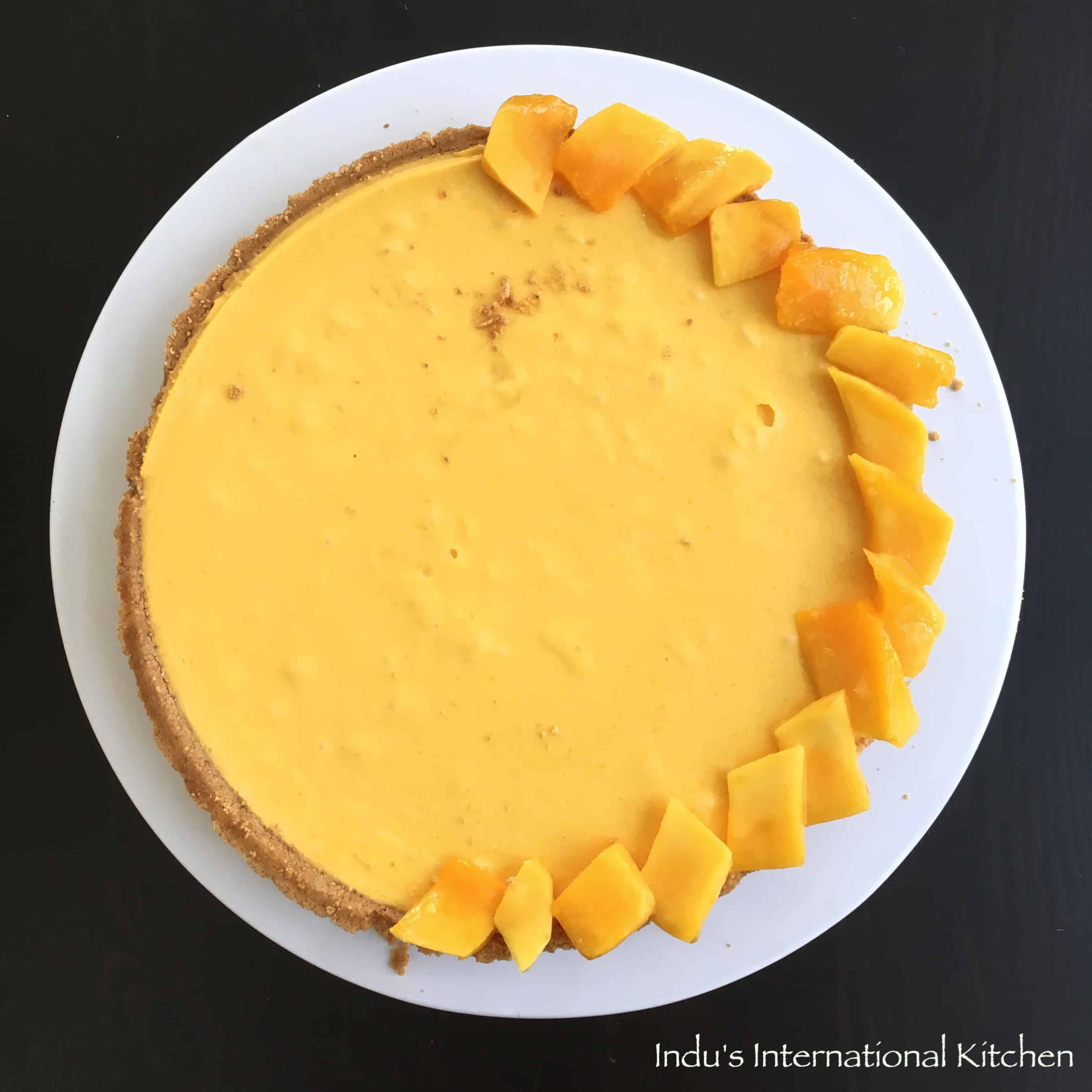 kek mangga azie kitchen resepi mango cheesecake azie kitchen mangga   pic bawah Resepi Kek Batik Durian Enak dan Mudah